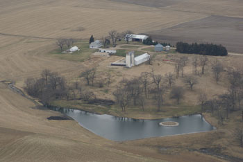 Services available at earth works inc for Design of farm pond ppt
